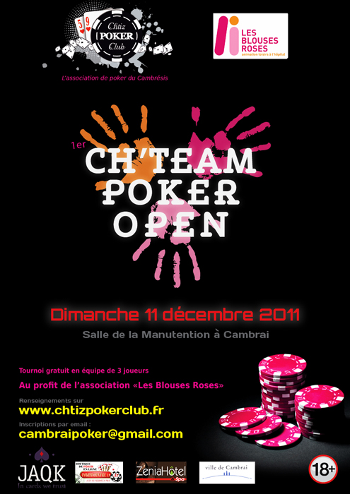 Ch'team Poker Open - Cambrai - 10 et 11 décembre - Page 2 Chteamdimanche