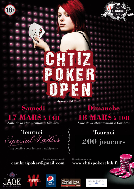 3ème édition du Chtiz Poker Open - 17 et 18 mars 2012 Chtizpokeropenladiesweb